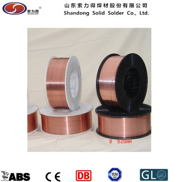 ER70S-6/SG2 mig welding wire manufacture from China