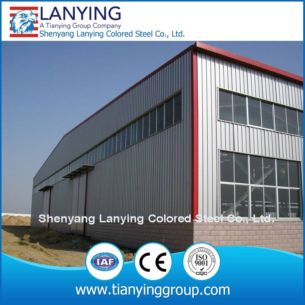 cheap prefabricated steel structure warehouse made of steel structure