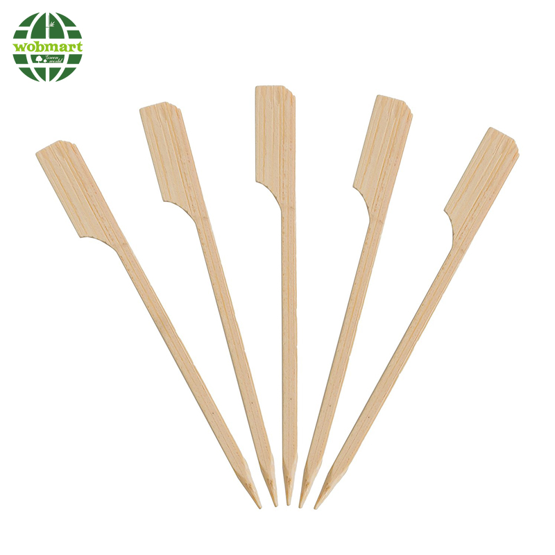 Paddle Picks BBQ Bamboo Skewers