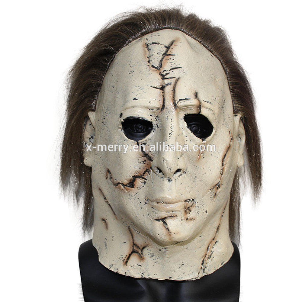 X-MERRY TOY Michael Myers Masks Classic Movie Cosplay Prop Adult Scary Latex Mask For Halloween x140