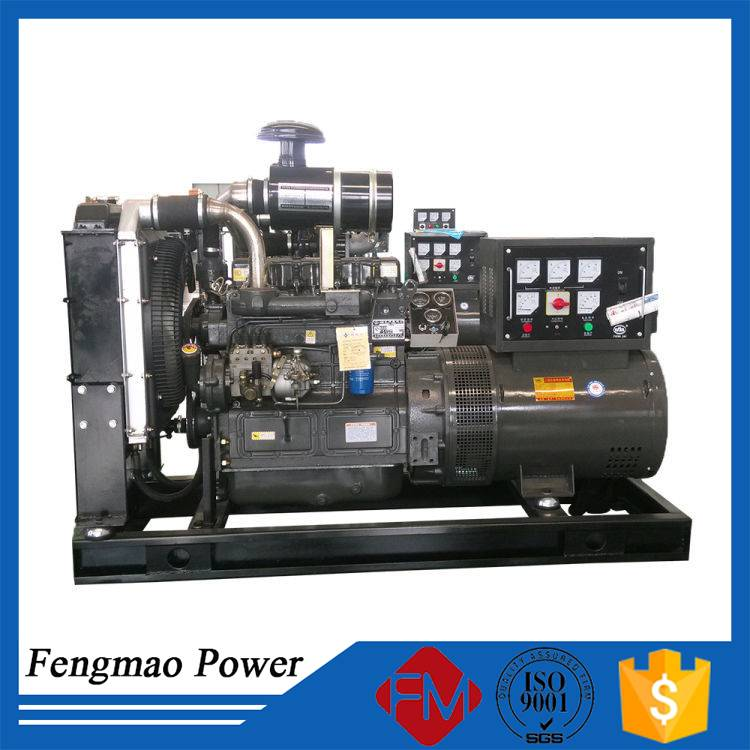 Mobile diesel generator with cummins engine