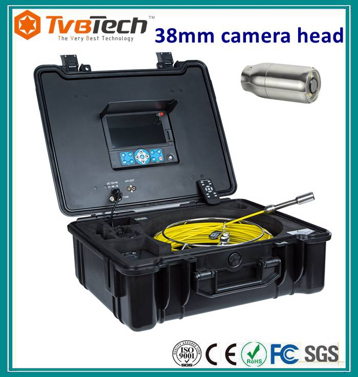 Drain/pipe Inspection Camera System with 30m (or 20m, 40m) cable
