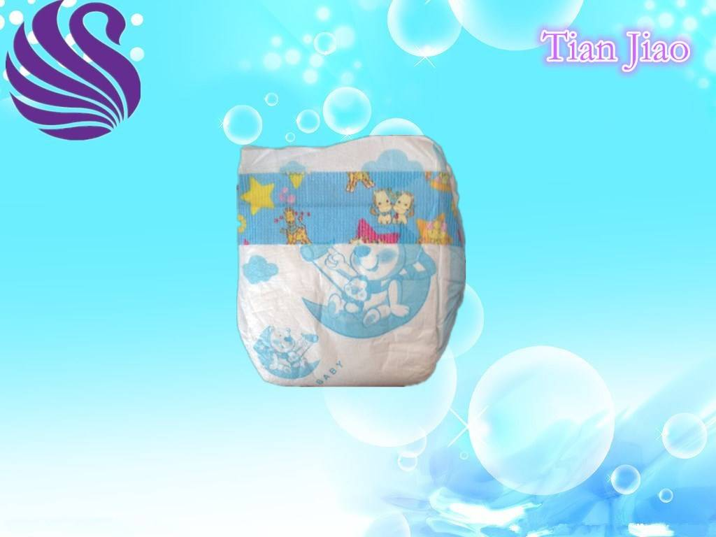 Competitive Price and Cloth Like Back Film Baby Diapers