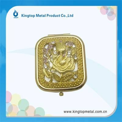 Square shape mini pocket mirror