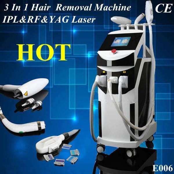 """Slim-girls"" ipl hair removal &RF skin rejuvenation&yag tattoo removal laser beauty machine,SG-E006"