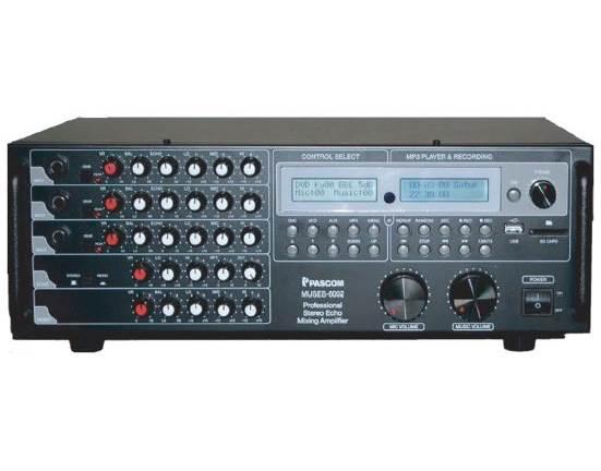 Amplifier PA system MUSE-602 Karaoke