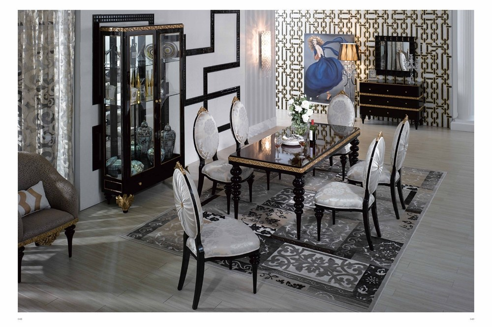 luxury dining room dining table 6 chairs