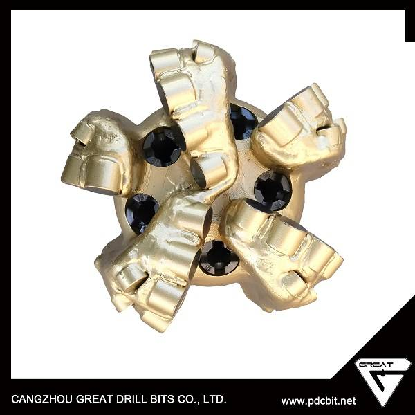 API steel body pdc bit oil well drill bit for sticky layer