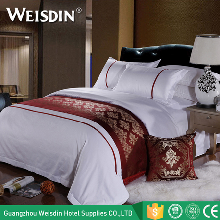 Wholesale china textile hotel linen bedding comforter sets luxury 100% cotton hotel bedding
