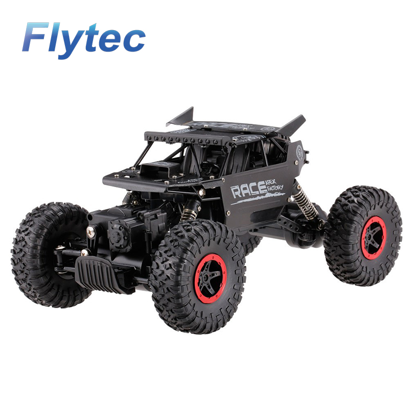 Flytec 9118 1/18 Alloy Body Shell Crawler RC Buggy Car 2.4G 4WD High Speed Climbing Car