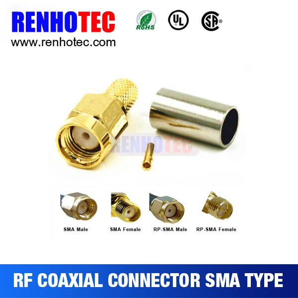 2016 Hot RF RP-SMA Male to SMA Female RP-SMA Connector