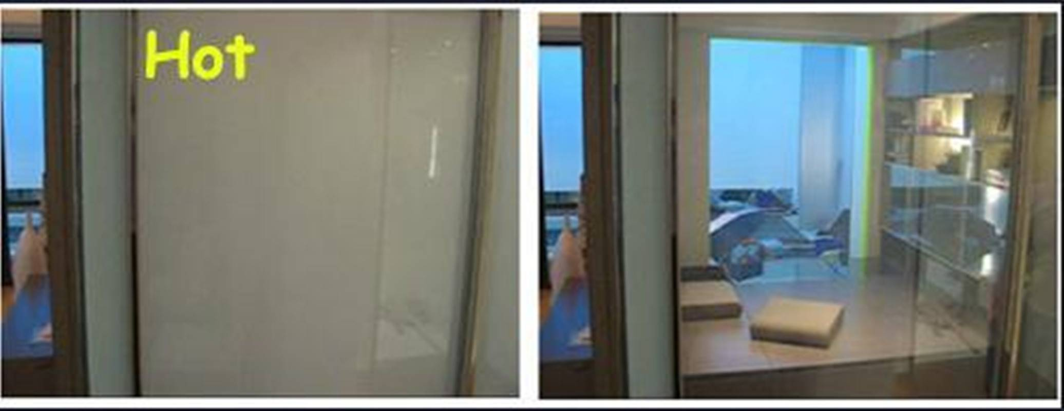 Wholesale price self adhensive pdlc film Smart glass film