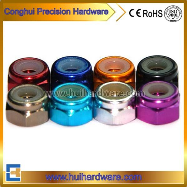 Aluminum Hex Nylon Lock Nut