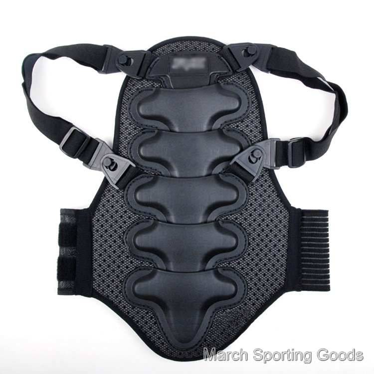 Motorcycle Biking Snowboard Ice Skating Back Spine Support Protector Pad Armor Shield Guard Protecti