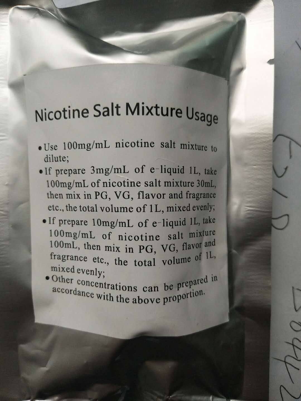 cigarettes tobacco nicotine salt