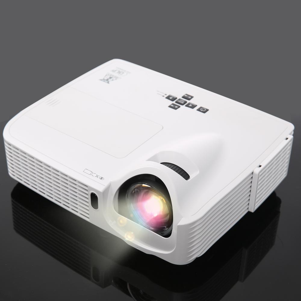 School Eductation 3500Lumens 1080P 3D Short Throw DLP Projector