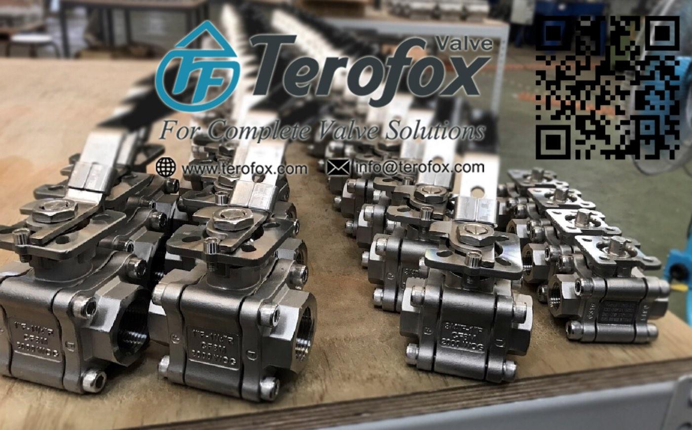 1pc, 2pc, 3pc ball valve