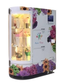 Rotation Refrigerating Flower Vending Machine