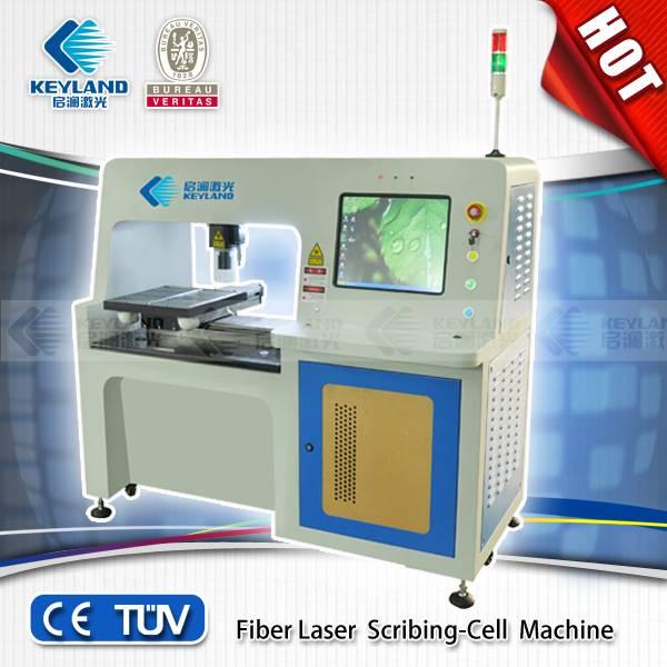 2014 CHINA Best-Selling Keyland Fiber laser scirbing-cell mahine/fiber laser scribing tools/scribing
