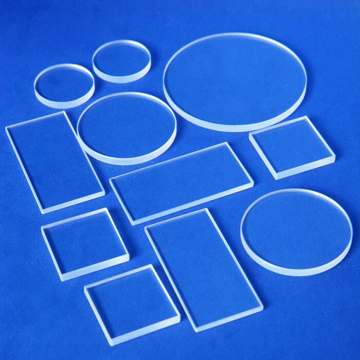Custom Optical Window AR BBAR Anti Reflective Coating UV Fused Silica Window