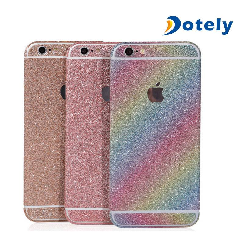 Glitter Sticker Skin iPhone Film with Diamond Sparkling Body Bling