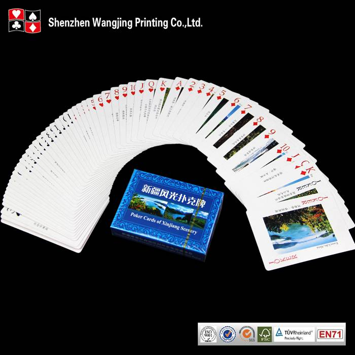 Highly valued customized game card printing With Own Design