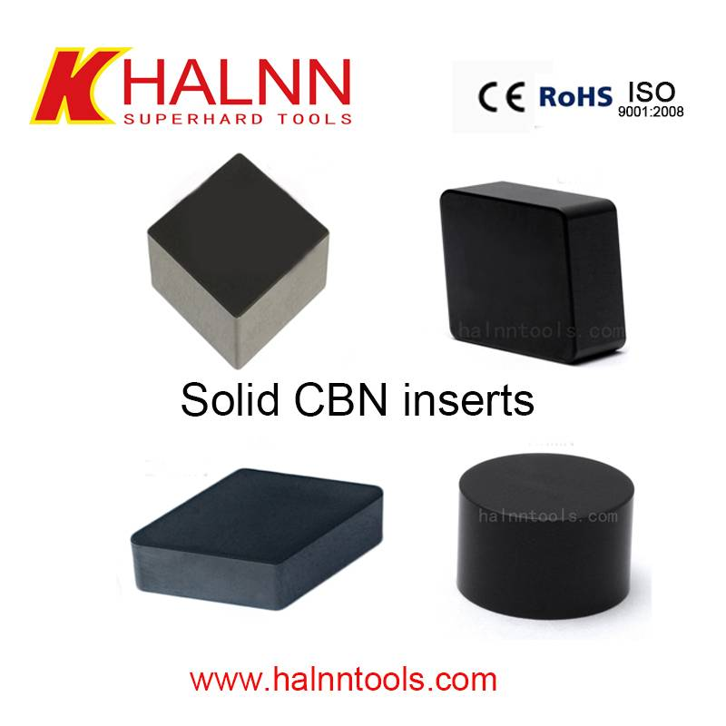 Turning Bearing steel with good performance with Halnn CBN Cutting Tools