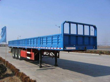 Plate form Semi trailer