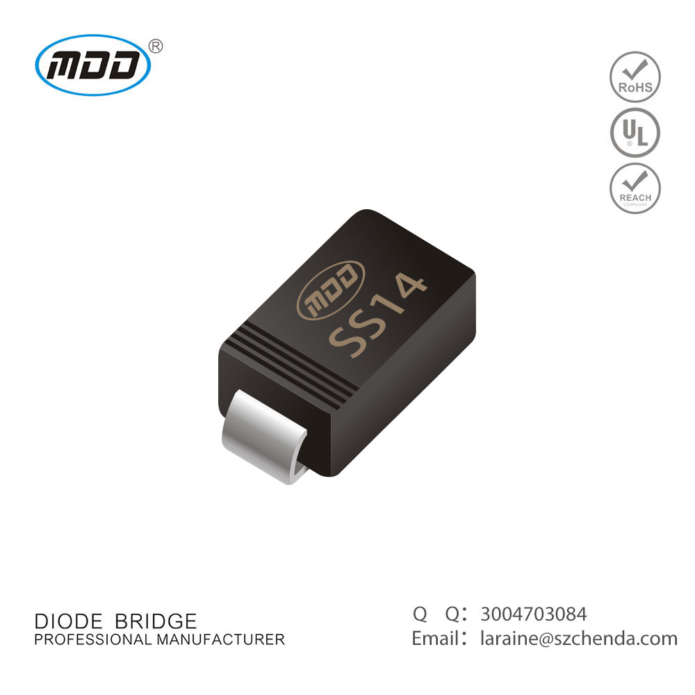 Professional Brand selling Quality Products SMD Diode SMA Schottky Rectifiers 1A 40V SS14
