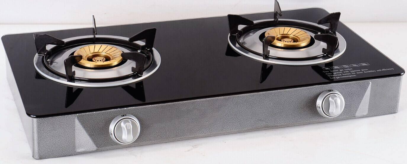 Glass gas stove