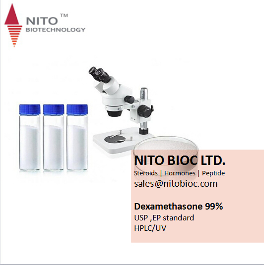 Factory Quality Control, Strong Intermediate Powder: Dexamethasone steroid with high quality 50-02-2