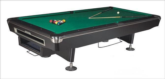 9ft luxury solid wood pool table