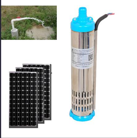 3t/H Solar Submersible Pumps with Built-in MPPT Controller