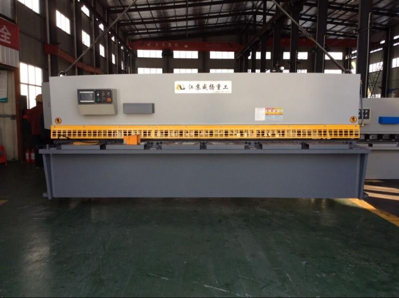 manual hydraulic shearing machine for metal processing sheet