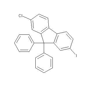 2-Chloro-7-iodo-9,9-diphenyl-9H-fluorene