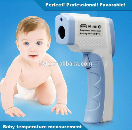 Digital Non-contact Infrared Digital Thermometer Forehead Ear Thermometer Human Body Temperature Las