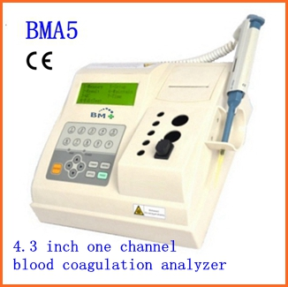 One channel blood hematology with 4.3 inch screen