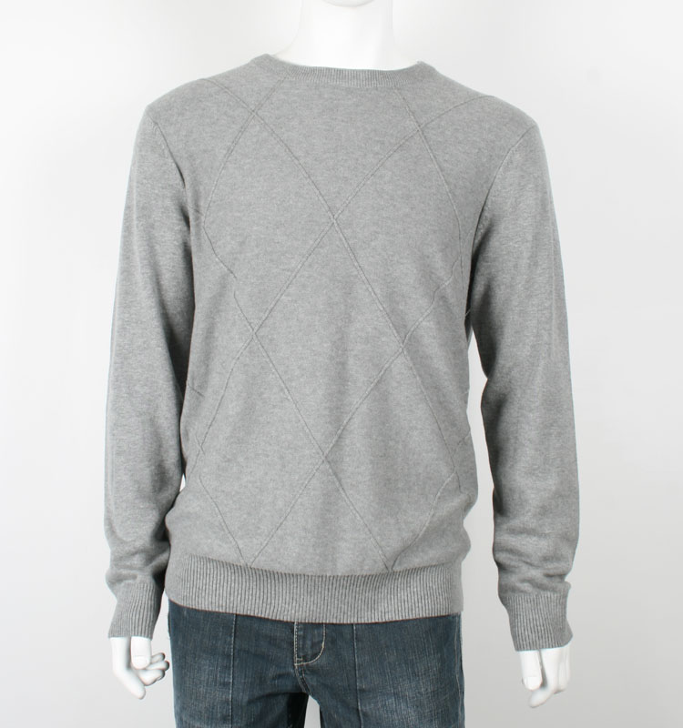 Wholesale Fall Knit Pullover Cotton Sweaters