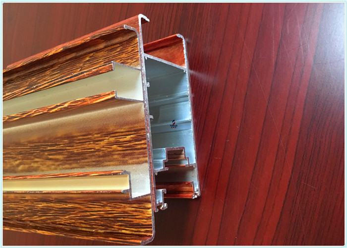 AL6063 - T5 Flat open Window Aluminum Profile for curtain walls