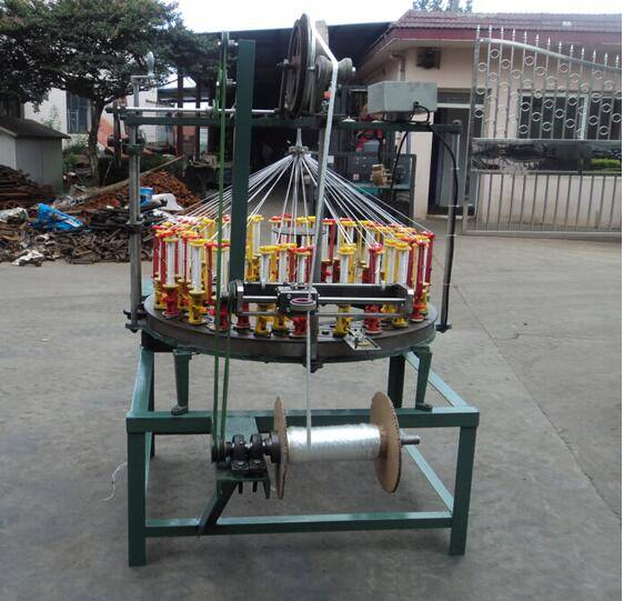 YY100 series 108 spindle middle speed fishing line, cord rope braiding machine, gift bag rope weavin
