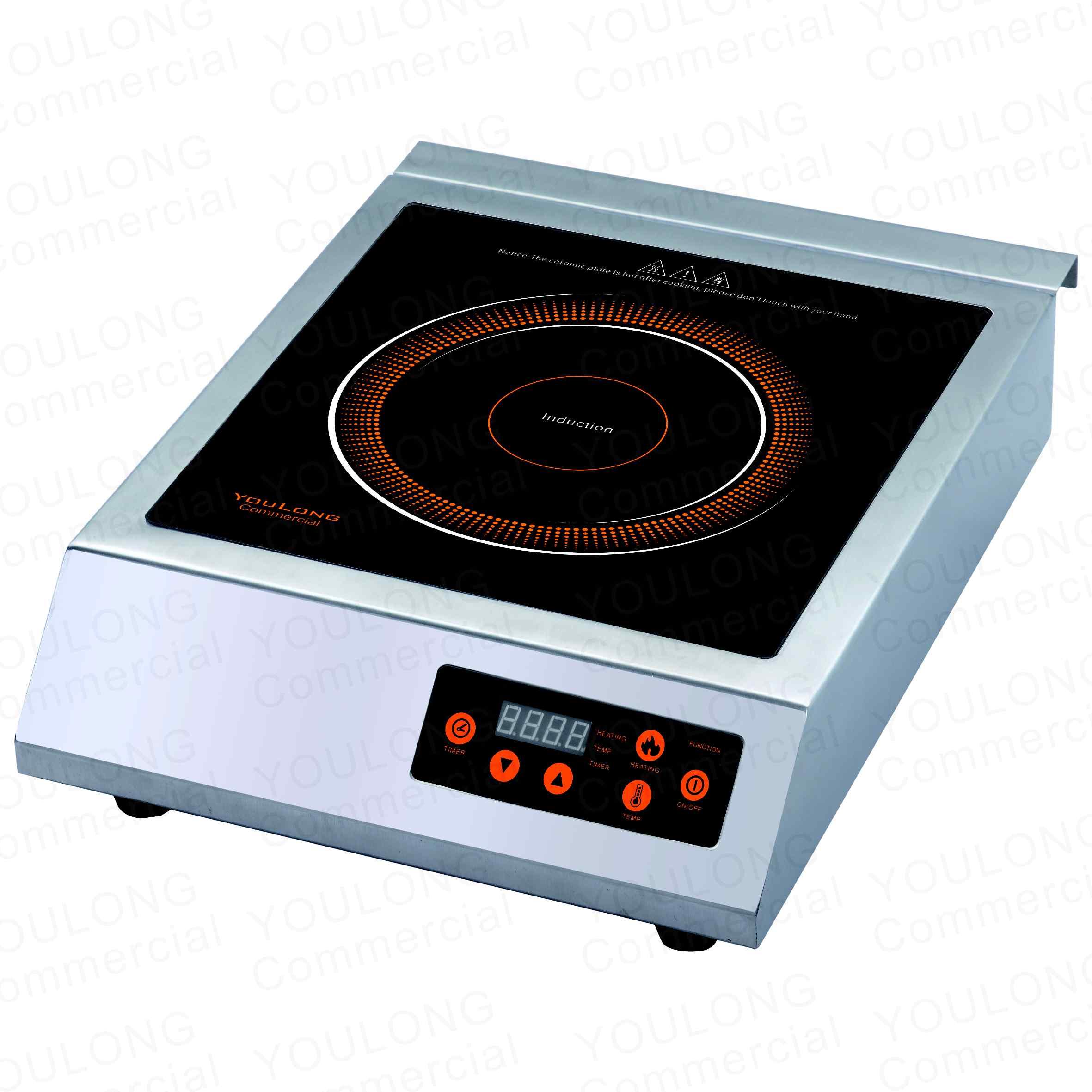 indnuction cooker(1 burner)C3512-B Press Control