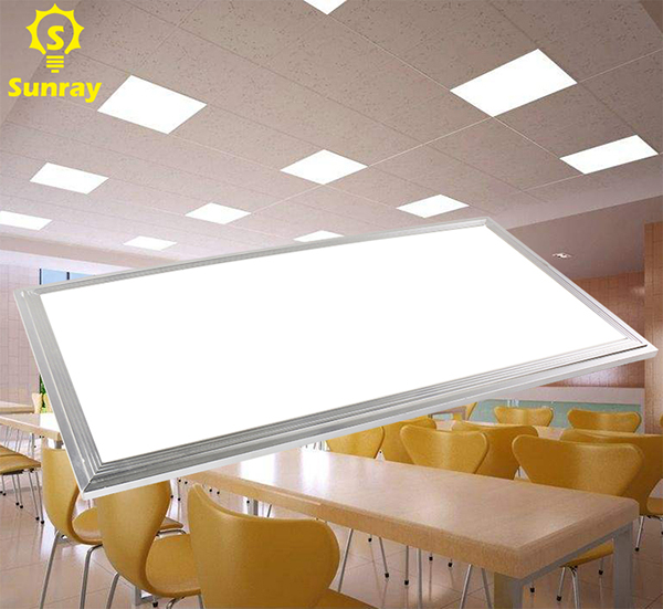 Indoor office high lumen square flat wall 150 x 1200 led panel light