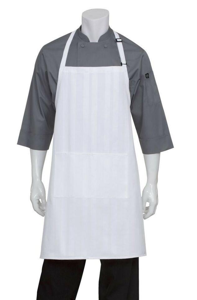 White Chef Bib Aprons