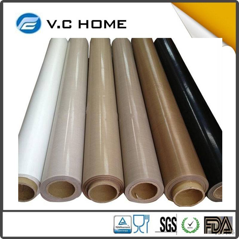China supplier Hot Sale PTFE Coated Fiberglass Mesh Fabric teflon sheet price with high quality