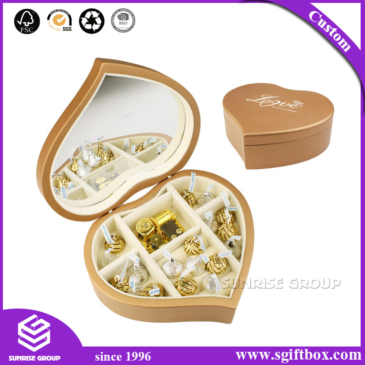 China OEM Hot Sale Wholesale Recyclable Paper Gift Packaging Chocolate Box