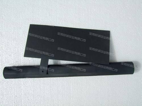 Iridium-tantalum coated titanium anode tube