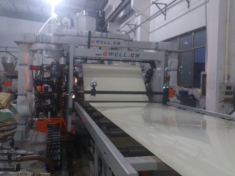 PMMA GPPS Sheet Extrusion Line