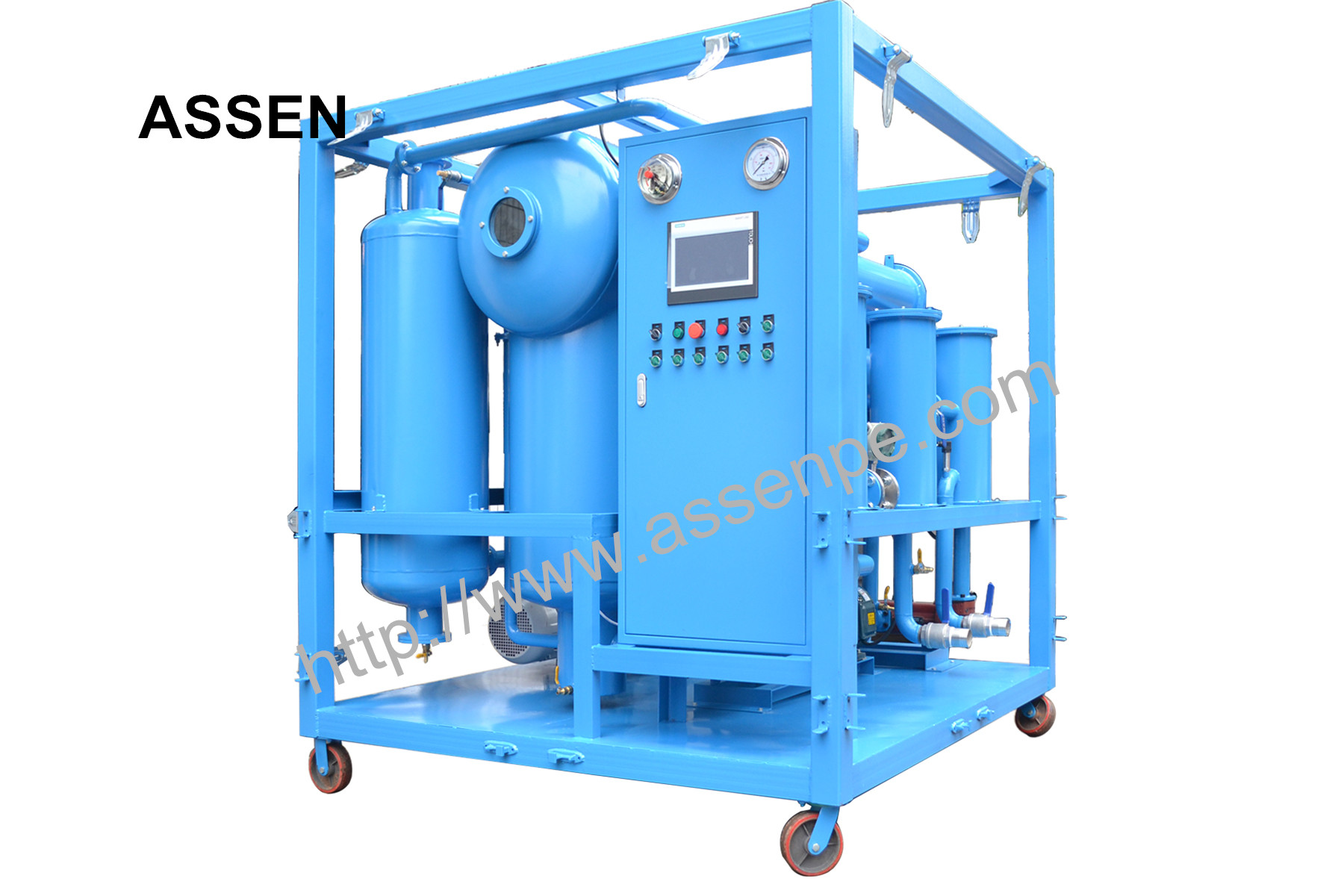 PLC Fully Automatically Transformer Oil Regeneration System Machine,Oil Purification Equipment