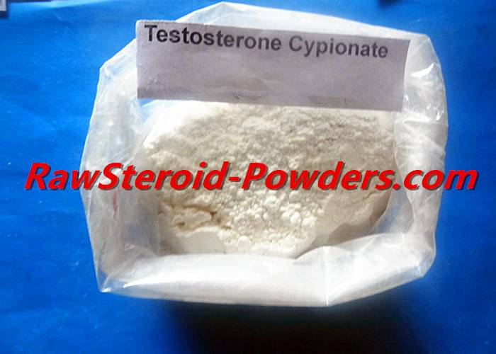 Safe Injectable Testosterone Cypionate / Test Cyp for Muscle Growth White Raw Steroid Powders CAS 58