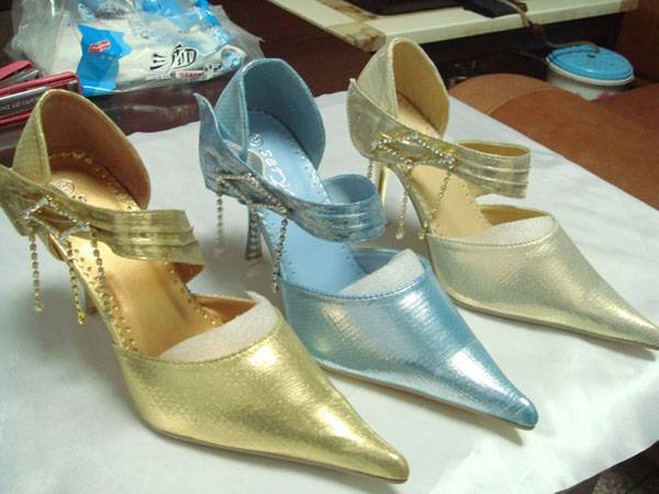 2011 lady dress shoes  bridal shoes